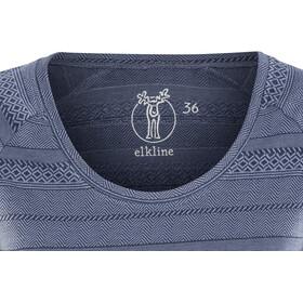 Elkline Marbella T-Shirt Femme, blueshadow-blue